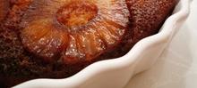 Gâteau Ananas Cognac