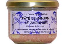 """Pâté de Canard """" Le Jardinier"""""""
