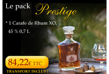 Pack Prestige Rhum Neisson XO 45°