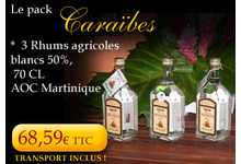 Rhum Neisson Pack Caraïbes