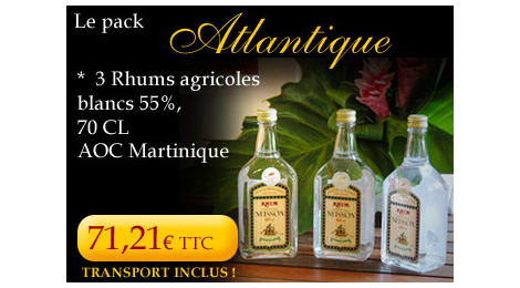 Rhum Neisson pack Atlantique