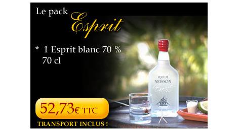 Rhum Neisson pack Esprit
