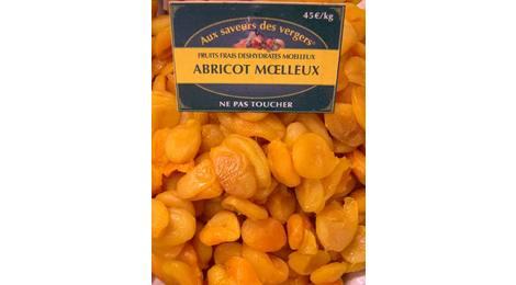 Abricot moelleux réhydraté