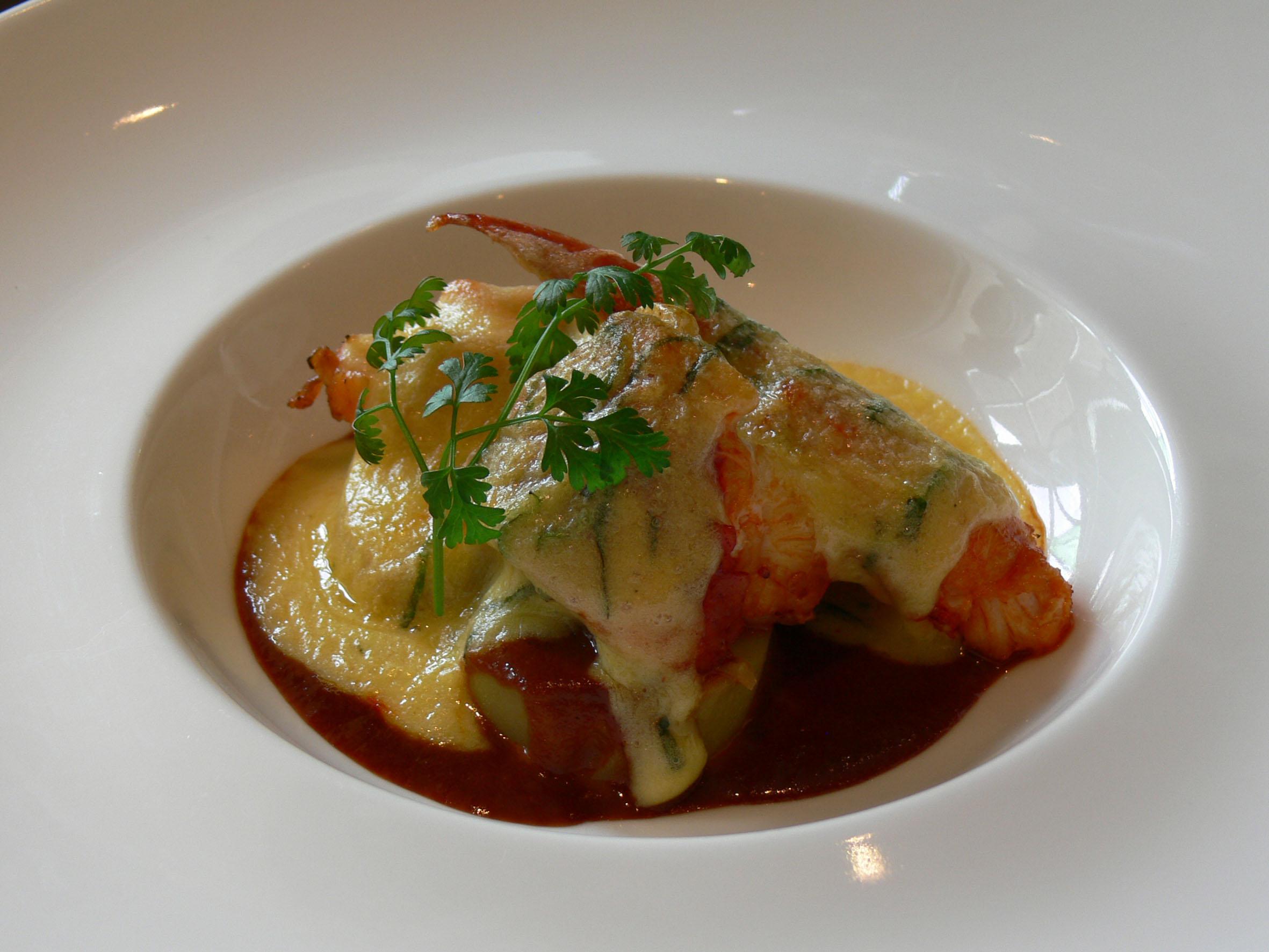 D licieux cours de cuisine autour du homard l 39 h tel des - Cours de cuisine normandie ...