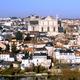 Les toits d'ardoise de la ville de Poitiers, capitale du Poitevin