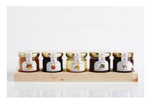 Confitures pour fromages lot de 5 mignonettes 175 gr