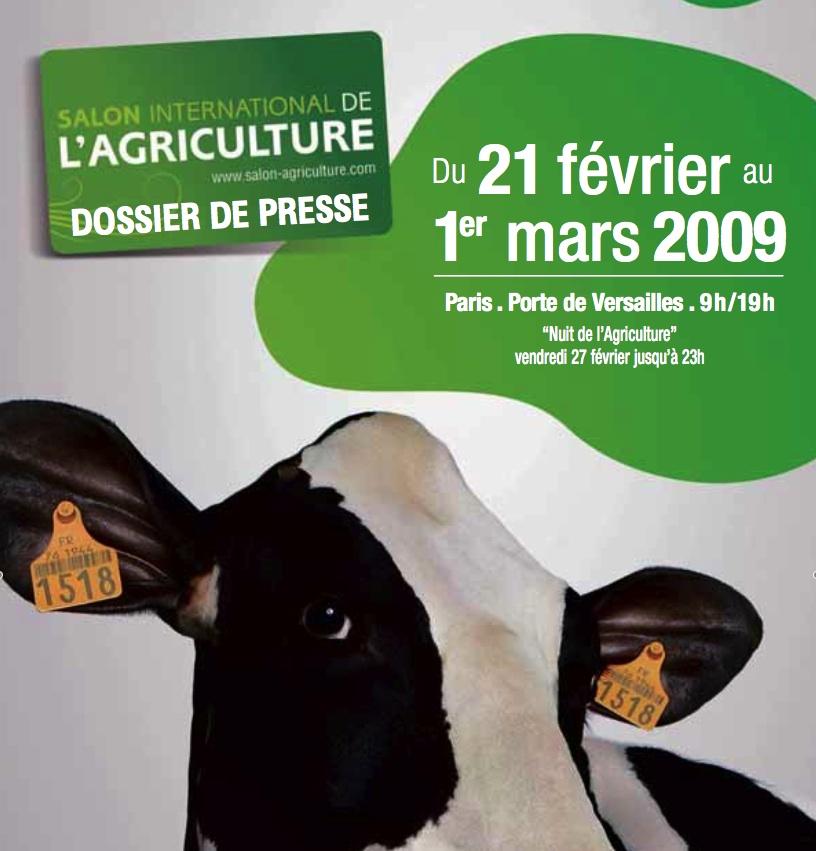 Salon international de l 39 agriculture 2009 paris 15 me 75015 for Salon de l agriculture