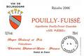 POUILLY FUISSE PLESSIS «CLIMAT »