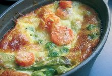 Clafoutis de légumes croquants