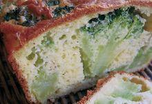 Cake joli au brocoli