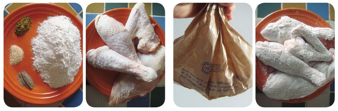 recette poulet frit southern fried chicken. Black Bedroom Furniture Sets. Home Design Ideas