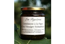 Condiment à la figue et Vinaigre Balsamique