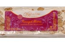 Nougat Blanc amandes et miel de lavande 200g