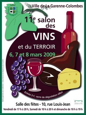 11 me salon des vins et du terroir 2009 la garenne colombes 92250 - Salon des vins la verpilliere ...