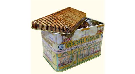 Berlingots Artisanaux 250g En Boite En Fer Maison Succès Berckois