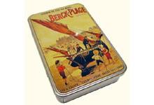 Sucette artisanales x10 boite en fer vieille affiche de berck mer - Vieilles boites en fer ...