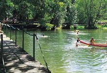 Canöe sur la Charente dans le Ruffecois