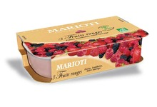 Sorbet Bio 3 Fruits Rouges 70 % 750 ML