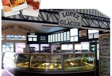 Glacier Lopez à Royan. Plus de 70 parfums maison.