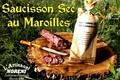 Saucisson sec au Maroilles