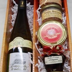 Le coffret Noël des Foies Gras du Ried