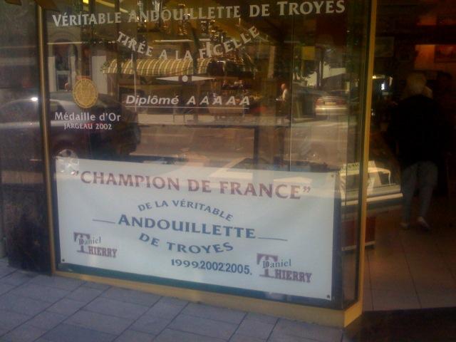 Charcuterie daniel thierry producteur aube for Le jardin gourmand troyes