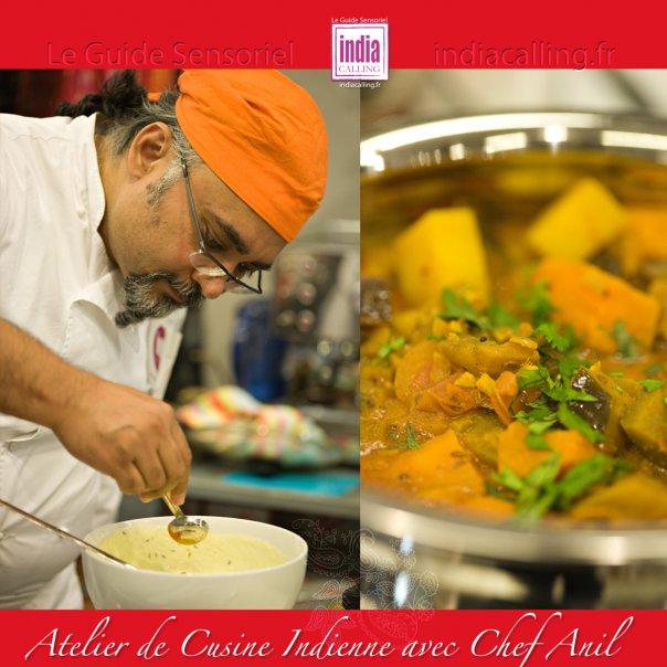 Atelier cuisine indienne sp cial noel paris 14 me 75014 for Ateliers cuisine paris
