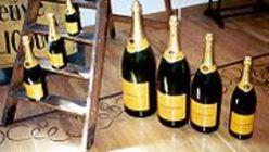 Les différentes bouteilles de Champagne
