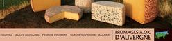 Les 5 fromages AOC d'Auvergne