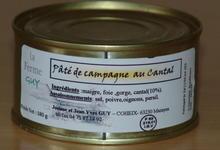 paté de campagne au cantal
