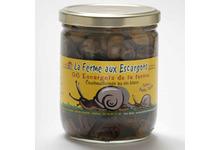 Verrine 96 escargots gros gris BIO (Petite Taille)