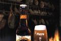 Carré d'agneau aux pruneaux, aux châtaignes et à la bière Pietra