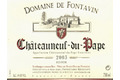 Chteauneuf du Pape, vin rouge