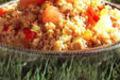 Boulgour d'épeautre aux tomates