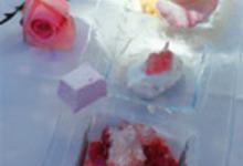 Délicate découverte de la rose en trois services au parfum de champagne rosé