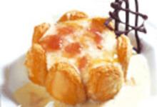 recette tiramisu au confit de pétales de rose et sa crème anglaise
