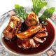 Filet de porc et de foie gras sauce aux figues