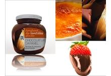 fondant de lentilles glaçées Chocolat Lait-Caramel