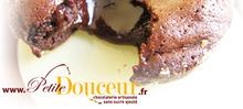 Coeur fondant chocolat sans sucre ajouté