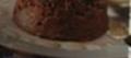 Gâteau léger de semoule au lait de soja, chocolat et poires