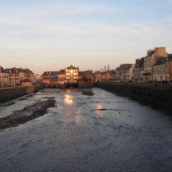 Landerneau vue depuis le pont Rohan