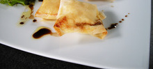 Croustillants de chèvre gratinés au miel (c) www.easyfrenchcook.com