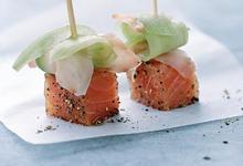 Sucettes de Saumon de Norvège