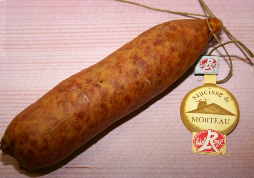 saucisse de morteau 300g les 3kg label rouge. Black Bedroom Furniture Sets. Home Design Ideas