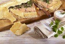 Filet de Saumon de Norvège au gros sel et herbes fraîches