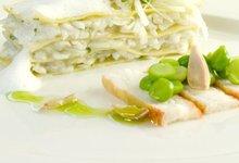 Lasagnes de Crabe Royal de Norvège au fenouil
