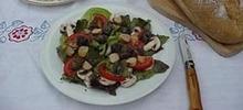 salade d'escargots