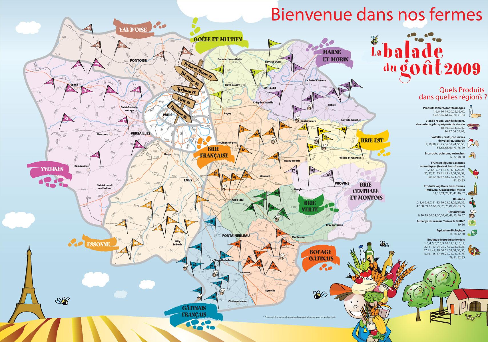 13 me balade du go t dans 85 fermes d 39 ile de france for Site touristique france