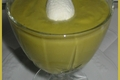 Velouté de Petits Pois au Wasabi et au Citron Vert