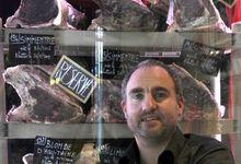 Le boucher star d'Asnières - crédit photo : Martine Murat